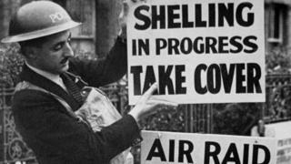 WWII air raid warden