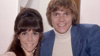 The Carpenters in 1971