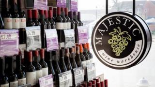 Majestic Wine shop