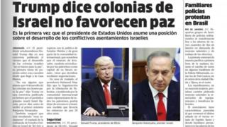 El Nacional newspaper in the Dominican Republic mistakes Alec Baldwin for Donald Trump in its edition of 10 February 2017