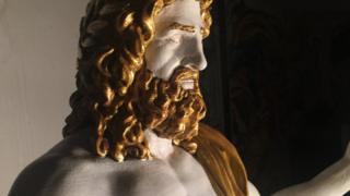 3D printed Zeus