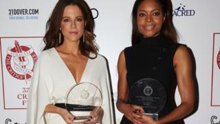 Kate Beckinsale and Naomie Harris