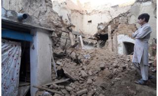 Afghan-Pakistan quake: Marwa's final journey home