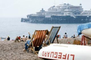 beach in Britain