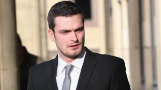 Footballer Adam Johnson 16/02/16