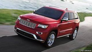 A Jeep Grand Cherokee