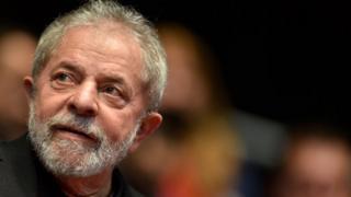 Former Brazilian president Lula