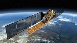 Sentinel radar satellite