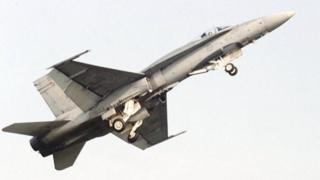 Canadian Armed Forces F-18 Hornet (file photo)