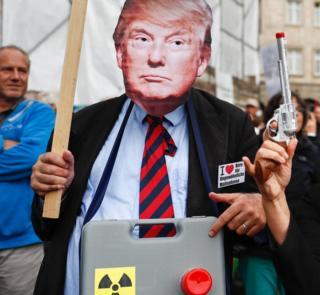 Demonstration in Berlin against TTIP, 17 September 2016