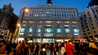 Primark opened a flagship store in Madrid last month