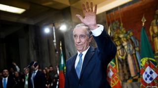 President of Portugal Marcelo Rebelo de Sousa