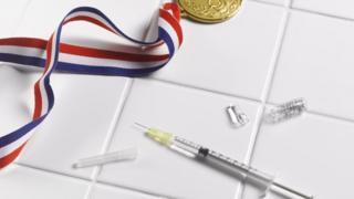 Medalla con sustancias dopantes