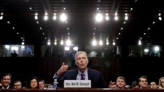 Neil Gorsuch said he would not be listing his favourite or least favourite precedents