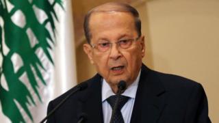 Michel Aoun (21 October 2016)
