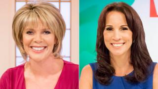 Ruth Langsford and Andrea McLean