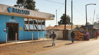 Barclays bank in Nairobi