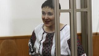 Nadia Savchenko in court in Donetsk, Rostov region of Russia. 2 March 2016