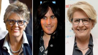 Prue Leith, Noel Fielding and Sandi Toksvig