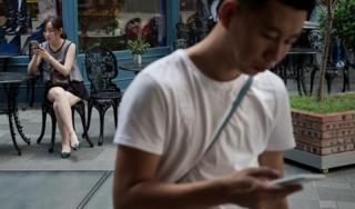 Smartphone users in Beijing