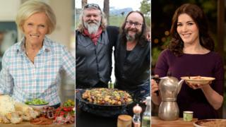 Mary Berry, the Hairy Bikers and Nigella Lawson