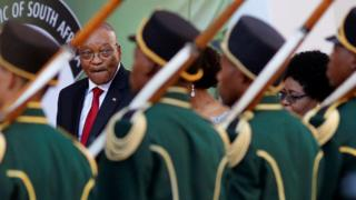 Jacob Zuma 9 Februari 2017