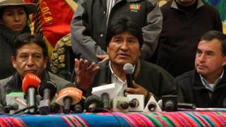 Bolivia says Chile base is a threat