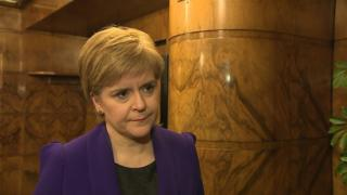 Nicola Sturgeon sees 'sense of solidarity' with London after attack
