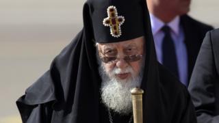 Georgian Patriarch Ilia II, 30 Sep 16