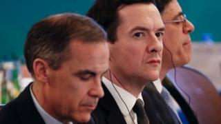 Bank of England Governor Mark Carney and Chancellor George Osborne