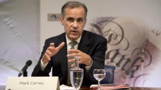 Mark Governor, Bank of England Governor