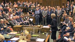 Prime Minister's Questions in the House of Commons