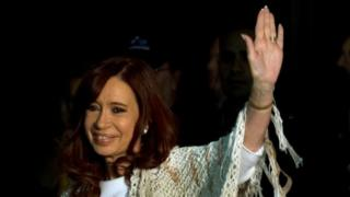 Argentine ex-leader charged with fraud