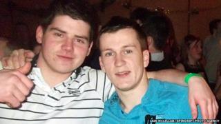 Alistair Downie (left) and Carl MacPhee