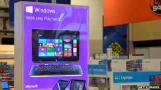 Windows on sale in store