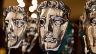 Bafta Awards trophies