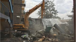 Kenya starts demolition of unfit houses