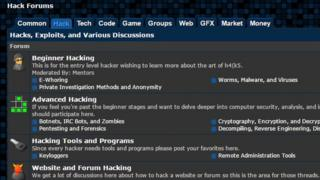 Hack Forums screengrab