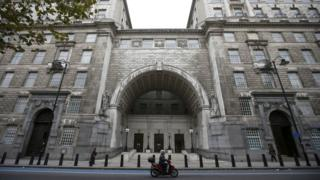 MI5 headquarters, in London