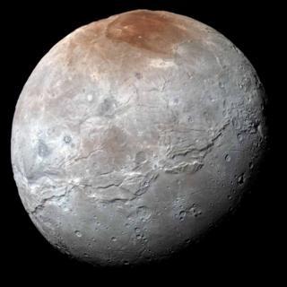 Charon moon seen in super detail...