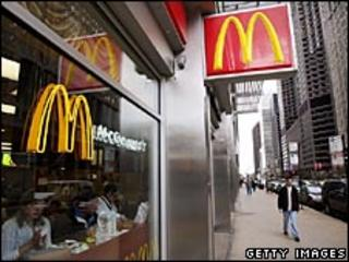 McDonald's branch in Chicago
