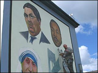 John Hume mural