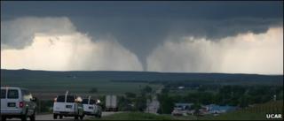 Tornado in Wyoming, June 2009 (Image: UCAR)