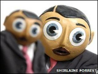 Frank Sidebottom with Little Frank (pic: Shirlaine Forrest)