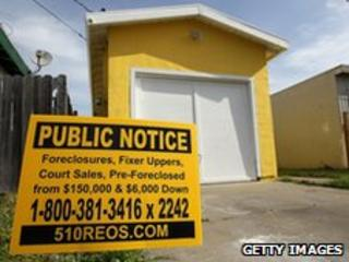 Foreclosed home in California
