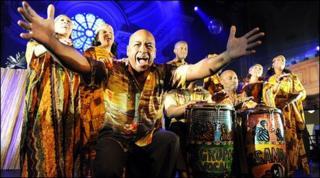 The Creole Choir of Cuba, or Desendann