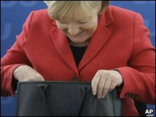 Angela Merkel, April 2010