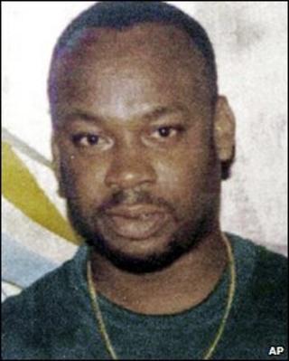 """Alleged drug gang leader Christopher """"Dudus"""" Coke (undated photo)"""