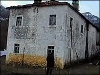 """The """"Yellow House"""" in Albania where organs were alleged to have been removed"""