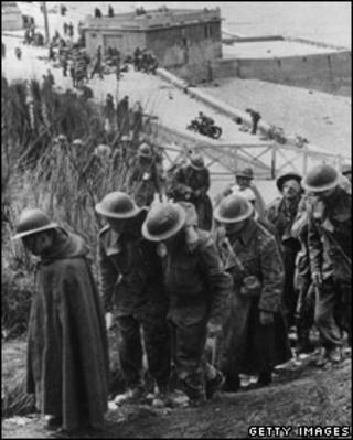 Evacuation at Dunkirk